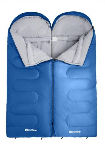 2093р. 2378р. 3155 OASIS 300  -13С 190+30x80 спальный мешок, синий