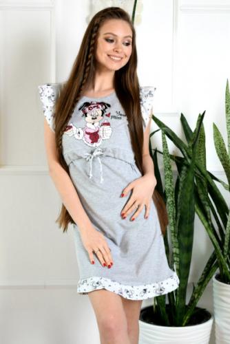 Домашнее платье для кормления YOUNG MOM Код товара: 1960