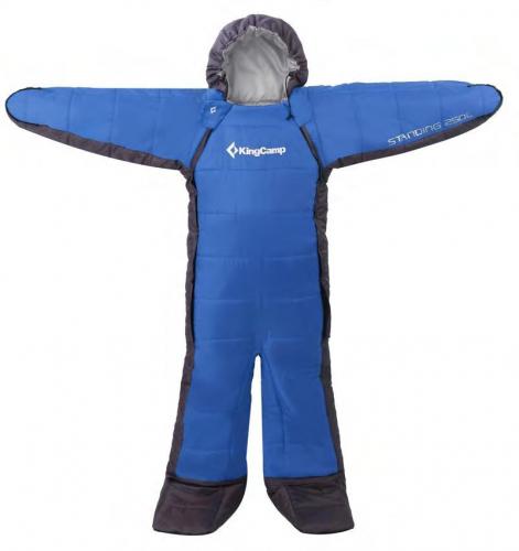 3683р. 4178р. 3142 STANDING 250L -8С 190х65 спальный мешок, -8С, синий