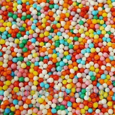 Посыпка кондитерская 'Радужные шарики', 2 мм, 50 г