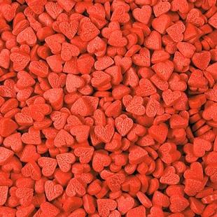 Посыпка кондитерская 'Сердечки красные мини' 4 мм, 50 г