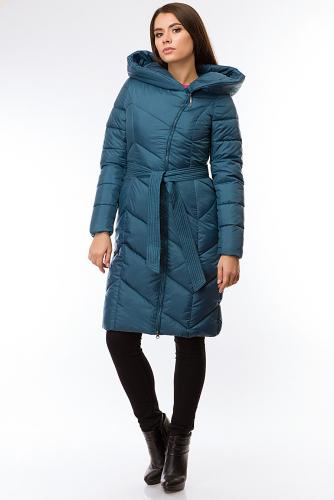 Пальто #97907Сапфир