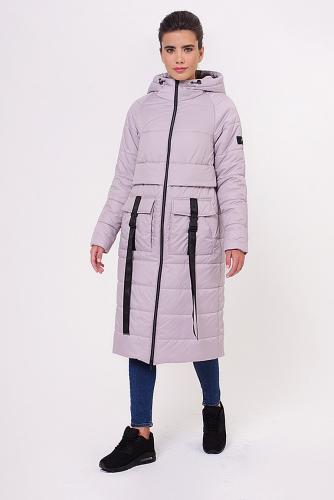 Пальто #151539Серый