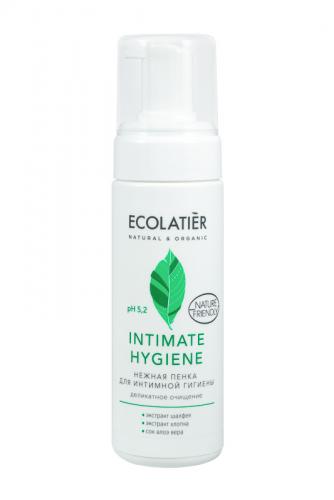 ECL/1562/ Нежная пенка для интимной гигиены Intimate Hygiene с экстрактами шалфея и хлопка