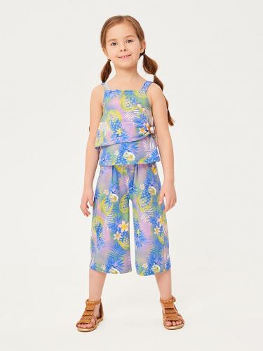 Брюки детские для девочек Protea-1 цветной