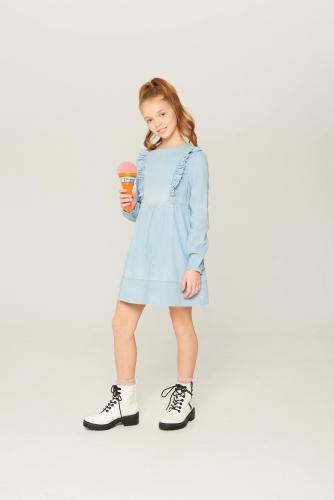 Платье джинсовое детское для девочек Achilia синий