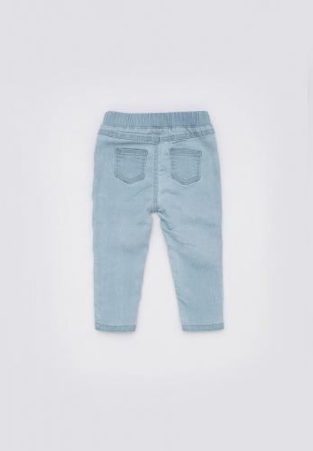 Брюки джинсовые детские для девочек Bengala голубой