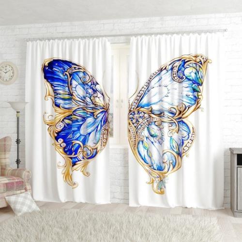 Фотошторы Ювелирная бабочка