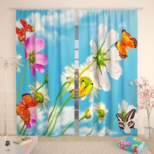 Фотошторы Утренние бабочки