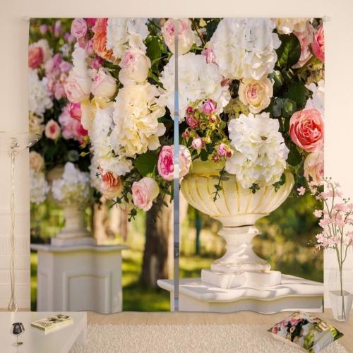 Фотошторы Мраморные вазы