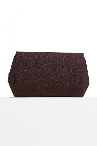 Клатч конверт Золотая луна Монте-Карло со съемной цепочкой #196645Бордовый