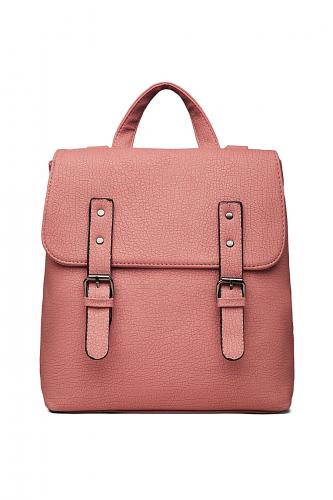 Сумка-рюкзак Уникальный экземпляр #196939Пастельно-розовый
