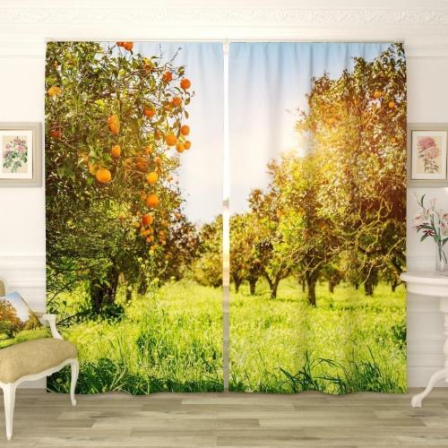 Фотошторы Апельсиновые сады