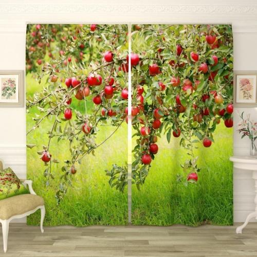 Фотошторы Наливные яблочки