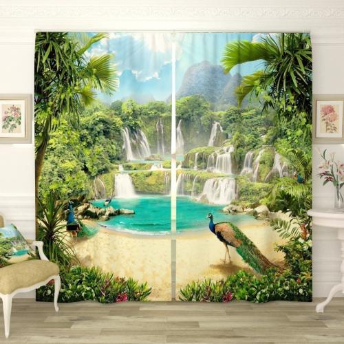 Фотошторы Волшебные водопады