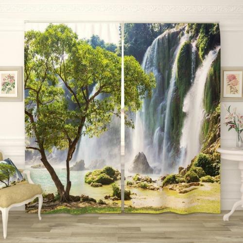 Фотошторы Затерянный водопад