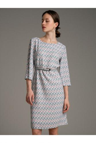 #100378 Платье (Emka Fashion) Серый