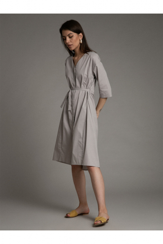 #94618 Платье (Emka Fashion) Серый