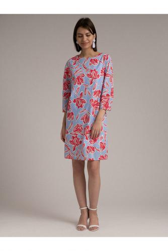 #101959 Платье (Emka Fashion) голубой