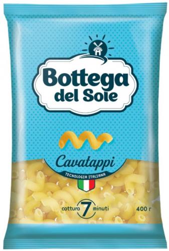 «Bottega del Sole», макаронные изделия «Витки», 400 г