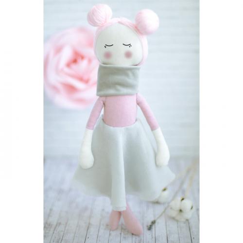 Интерьерная кукла «Амели», набор для шитья, 18 × 22 × 3.6 см