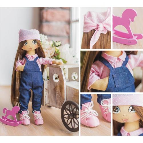 Интерьерная кукла «Эмма», набор для шитья, 18 × 22.5 × 3 см