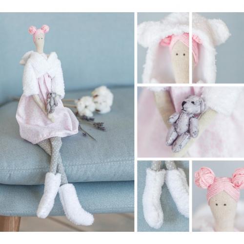 Интерьерная кукла «Алекса», набор для шитья, 18.9 × 22.5 × 2.5 см