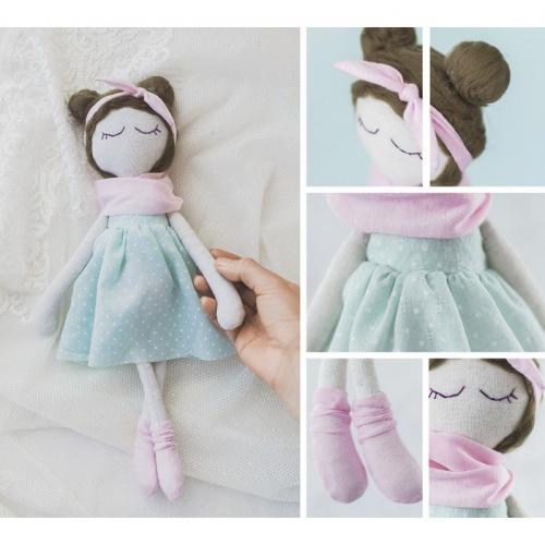 Интерьерная кукла «Лола», набор для шитья, 18 × 22.5 × 2 см
