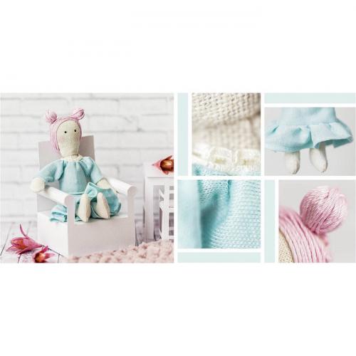 Игрушка–малютка «Девочка Эни», набор для шитья, 21 × 14.4 × 0.8 см