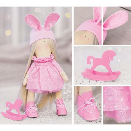 Интерьерная кукла «Паффи», набор для шитья, 18,9 × 22,5 × 2,5 см