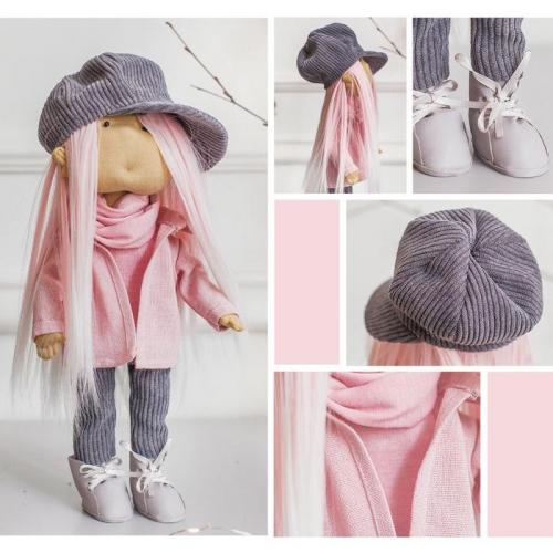 Интерьерная кукла «Брижит» набор для шитья 15,6 × 22.4 × 5.2 см