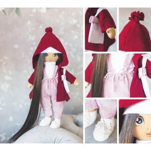 Интерьерная кукла «Кэтти», набор для шитья, 18 × 22.5 × 3 см