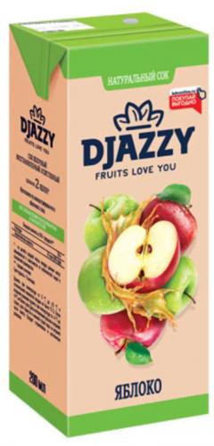 «Djazzy», сок яблочный, 200 мл