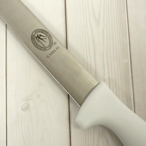 Нож для бисквита 25 см, пластиковая ручка, без зубчиков