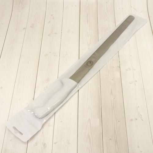 Нож для бисквита 35 см, пластиковая ручка, мелкие зубчики