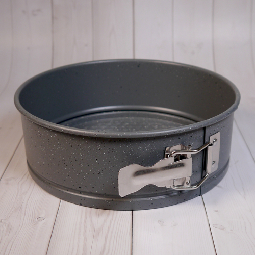 Форма для выпечки со съемным дном Caramella гранит круг 20 см