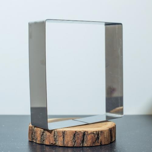 Квадрат для выпечки L=22 см, d=5 см