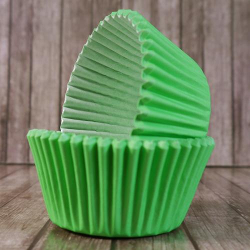 Капсулы бумажные Зеленые 50*35 мм, 1000 шт