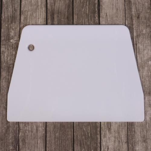 Шпатель прямой большой 19,5*12,5 см пластик