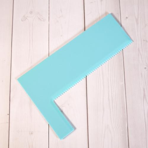 Шпатель угловой пластиковый S625-6, 18 см