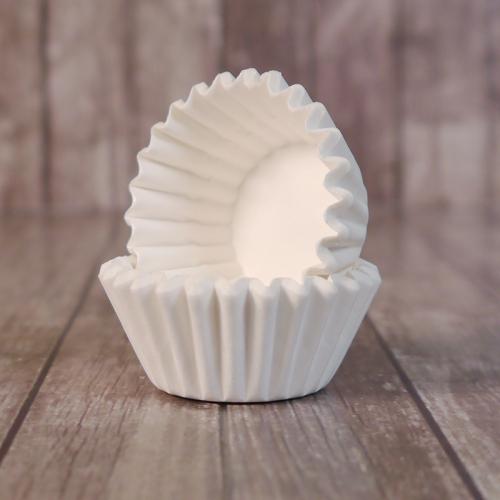 Капсулы бумажные для конфет Белые 30*23 мм, 1000 шт