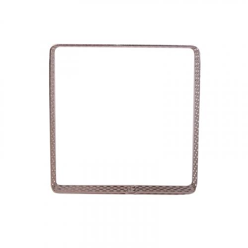 Квадрат для выпечки перфорированный 10*10 см, h=2 см