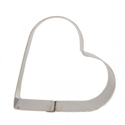 Форма металлическая Сердце для выпечки 10 см h=5 см