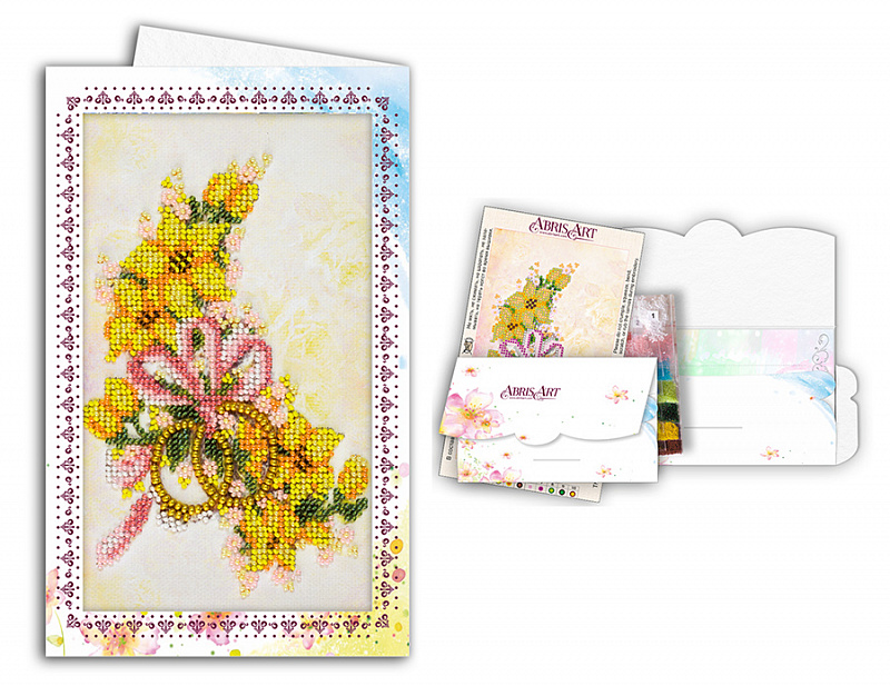 схема открыток для бисера дополнительный