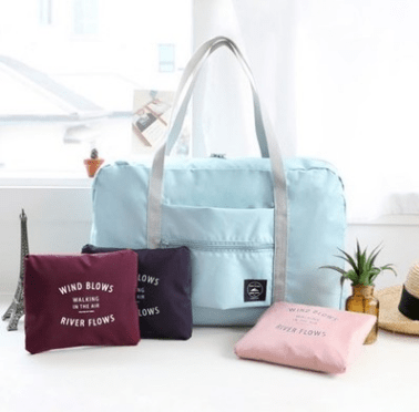 Складная сумка для багажа Голубая