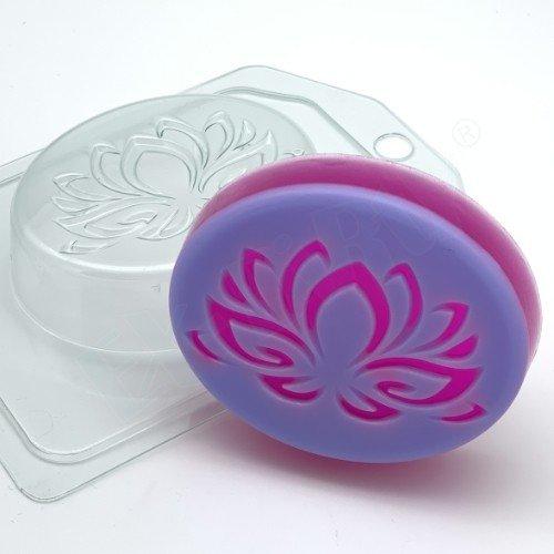 Лотос силуэт форма пластиковая