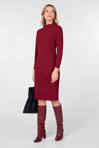 Платье #180744Бордовый