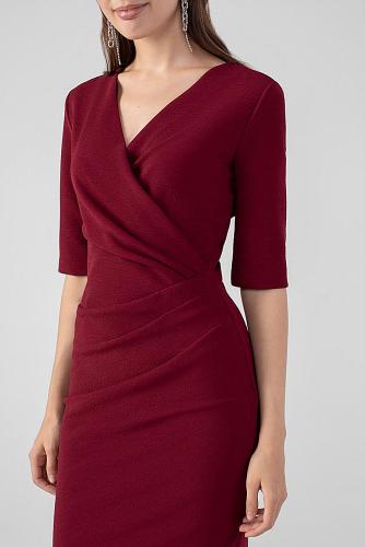 Платье #178933Бордовый