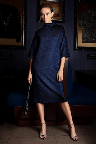 Платье #180822Темно-синий