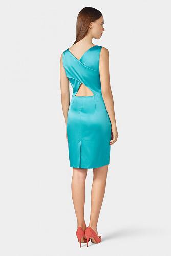 Платье #180370Бирюзовый
